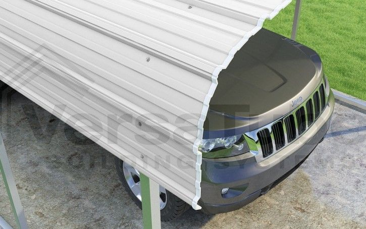 Classic Carport 2x2 12 W X 20 L X 7 H Carport Or Shelter Building Kits Diy Carport Diy Carport Kit Carport