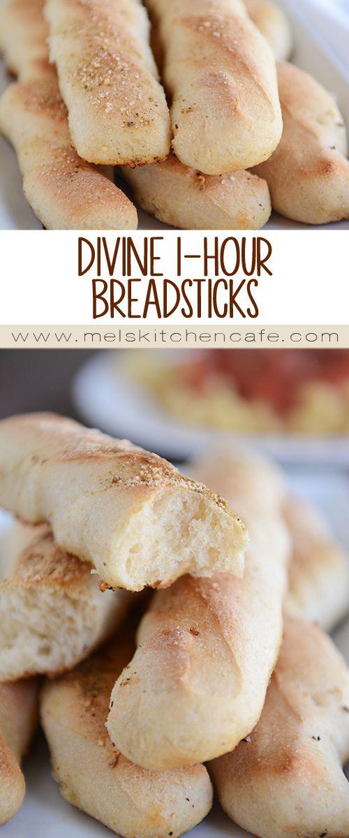 Divine 1-Hour Breadsticks