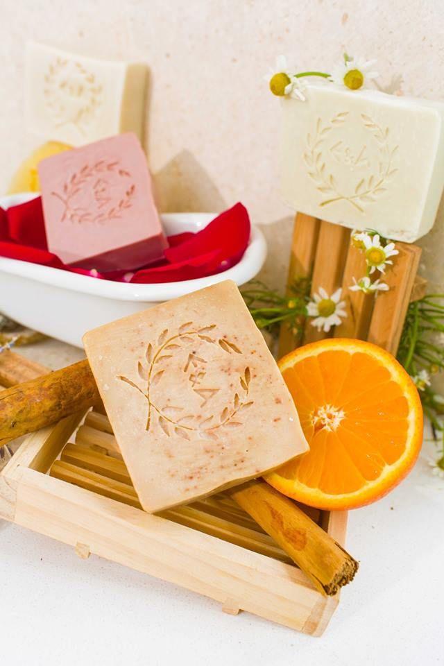 Ε & Α Pure Beauty Authentic Greek handmade 100% olive oil soaps - Ε&Α Pure Beauty