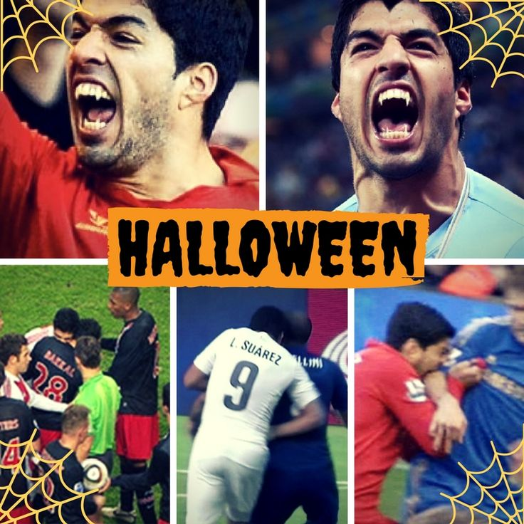 Happy Halloween from all of us at 12th Man Football Kits! Here's our favorite vampire, Luis Suarez   #halloween #luissuarez #football #soccer #futebol #vampire #barcelona #liverpool #uruguay