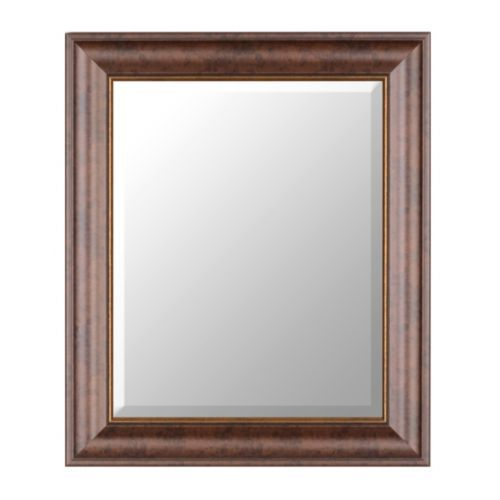 Bronze Classic Framed Mirror, 22x26 | Kirklands