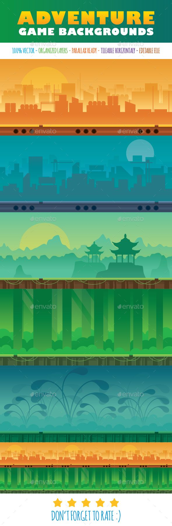 Adventure Game Background