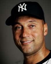 Derek Jeter of the New York Yankees poses during the New York Yankees