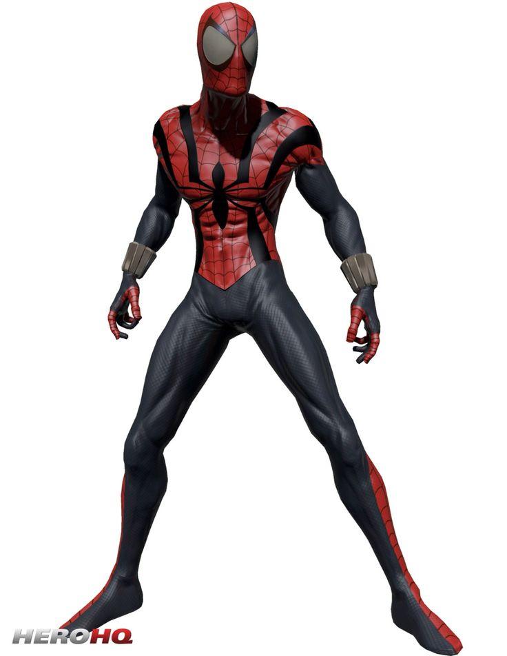 Все костюмы человека паука из комиксов картинки