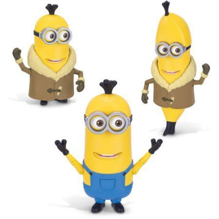 Minions Deluxe Figure Build A Minion Kevin, Yellow