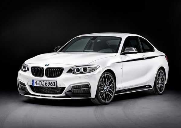 2014 BMW 2 Series Coupe with M Performance Parts 600x426 2014 BMW 2 Series Coupe with M Performance Parts Review and Design