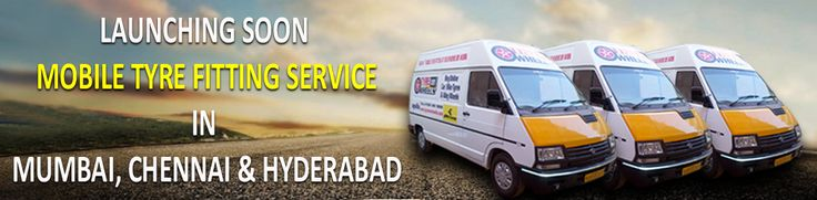 TyreOnWheels.com Launching soon Mobile Tyre Fitting Service with Wheel Alignment which includes tyre fitting, wheel balancing, putting balancing weights, new chrome tubeless valves  and nitrogen air filling in all the tyres in Mumbai, Chennai and Hydrabad after succesful operating presenting at New Delhi, Gurgaon, Noida, Greater Noida, Ghaziabad, Faridabad and Bangalore.