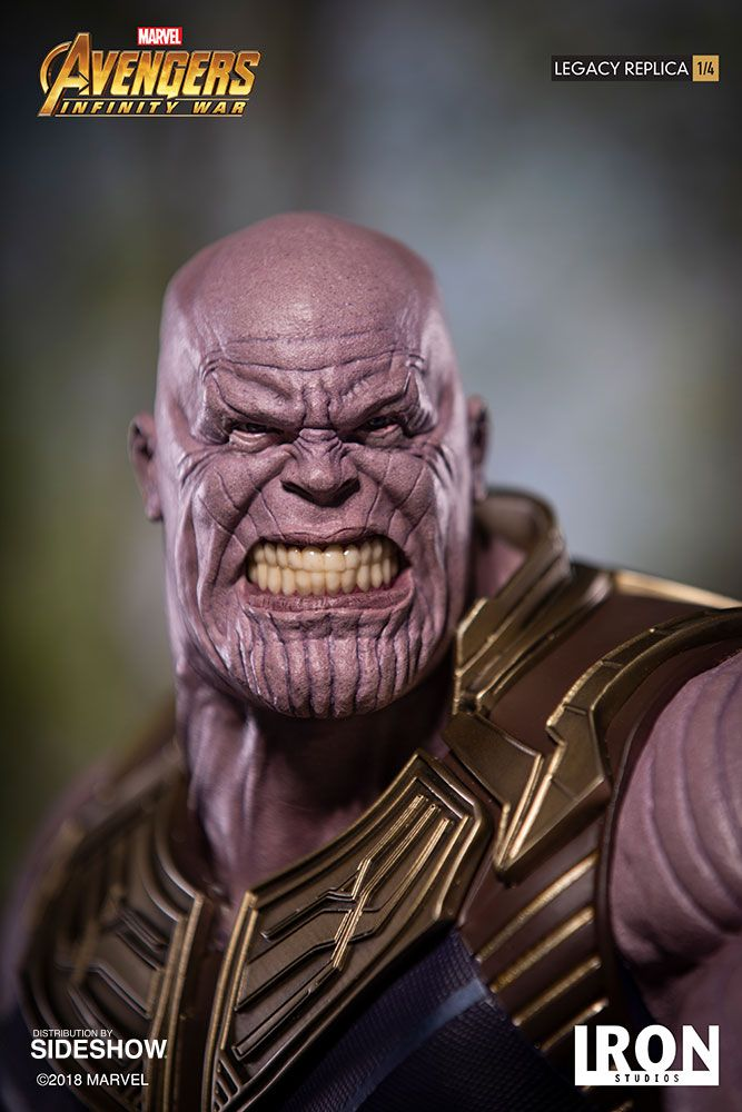 Marvel Thanos Statue By Iron Studios Sideshow Collectibles Thanos Marvel Marvel Avengers