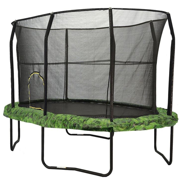Best 25+ Trampoline With Enclosure Ideas On Pinterest