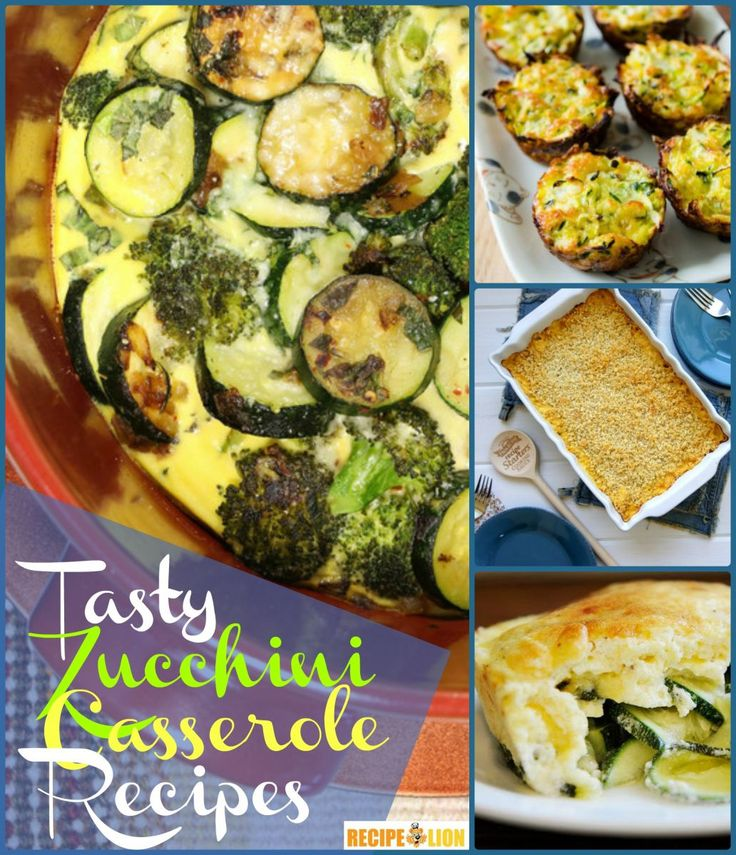 10 Simple Zucchini Casserole Recipes