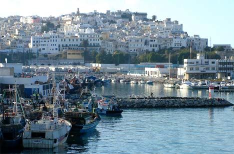 """tanger.  Para mi, es la más """"europea"""" de todas las ciudades de Marruecos."""