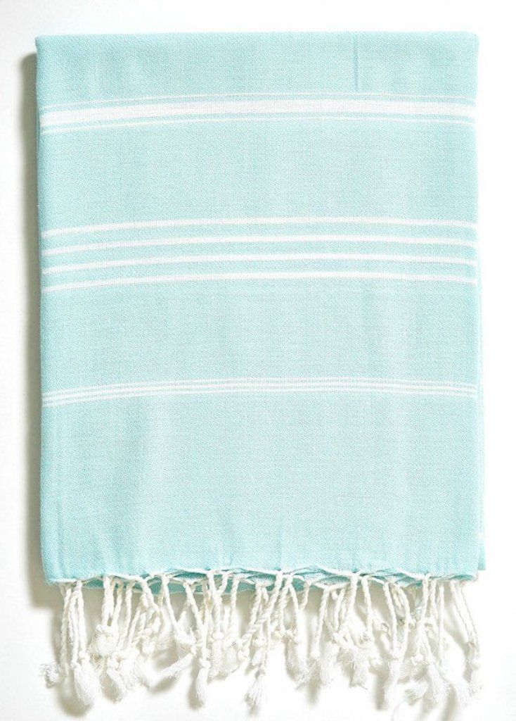 Turkish Hand Towel - Basic Aqua