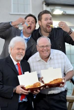 The Osmonds dropped into the Wetherby Whaler, Guiseley--Love when Tom is included!!!