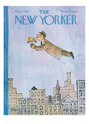 The New Yorker Cover - February 15, 1964 Giclee Print by William Steig at Art.com