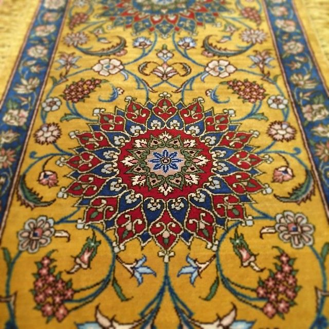Persian Qum (detail) 100% silk