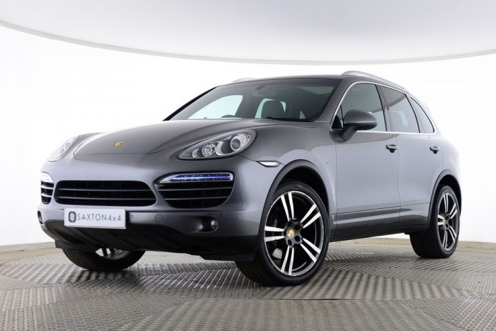 Used Porsche Cayenne D V6 TIPTRONIC Grey for sale Essex BG62UHO | Saxton 4x4