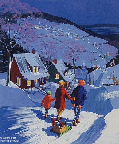Rémi Clark, 'Un souper chez grand-père', print/reproduction | Galerie d'art - Au P'tit Bonheur - Art Gallery