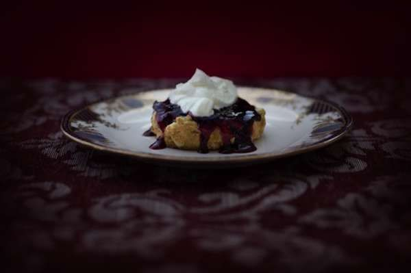 Jonathan Cameron's Vamp: High Tea Edition Features Bloody Recipes #halloween #food trendhunter.com