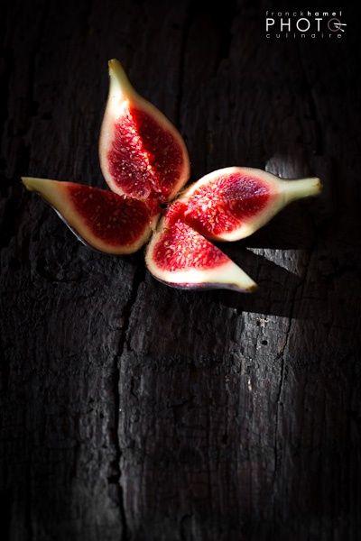 Higos. Rojo pasión. Gorgeous food #photography.