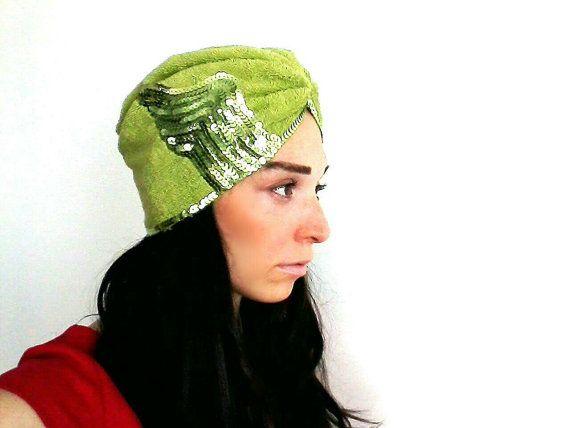 Check out this item in my Etsy shop https://www.etsy.com/listing/220439578/beanieturbanturban-hatwomen