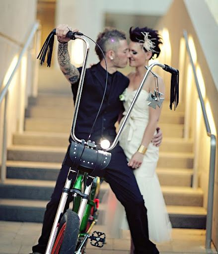 Rocker Wedding! I will totally do this