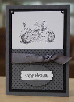 Motorcycle A La Carte stamp