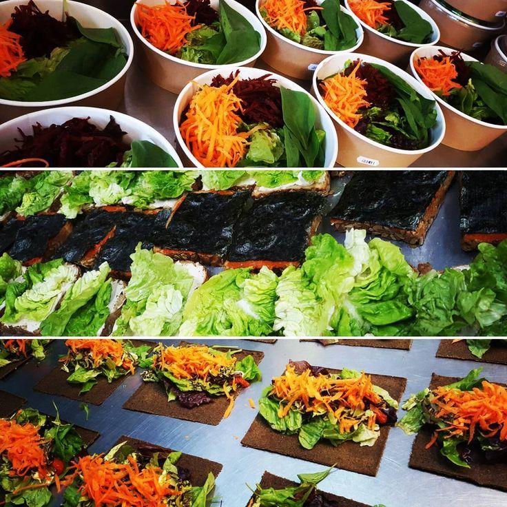 Todo listo para tu almuerzo...🍃🍈🍅🍆🌶🍄🍋🌯 #raw #rawfood #rawvegan #vegan #veggie #almuerzo #lunch #lunchtime #salud #comidasaludable #comidasana #health #healthyfood #healthylife #comfortfood #vida #vidasana #fit #fitness #glutenfree #sugarfree #salad #sandwich #wrap #detox