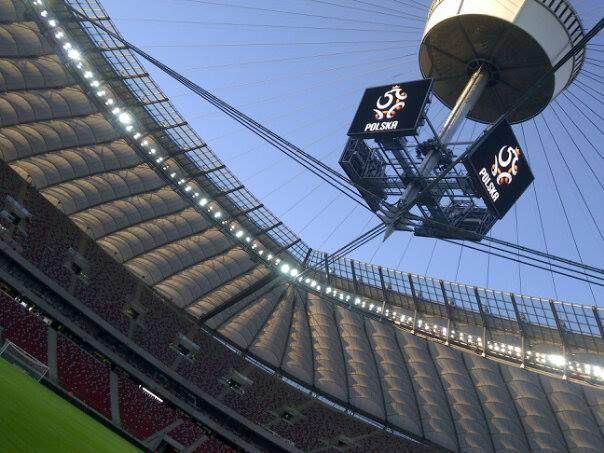 Stadion Narodowy przed meczem