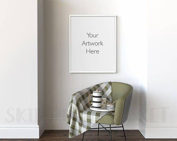 16 x 20 frame mockup poster frame