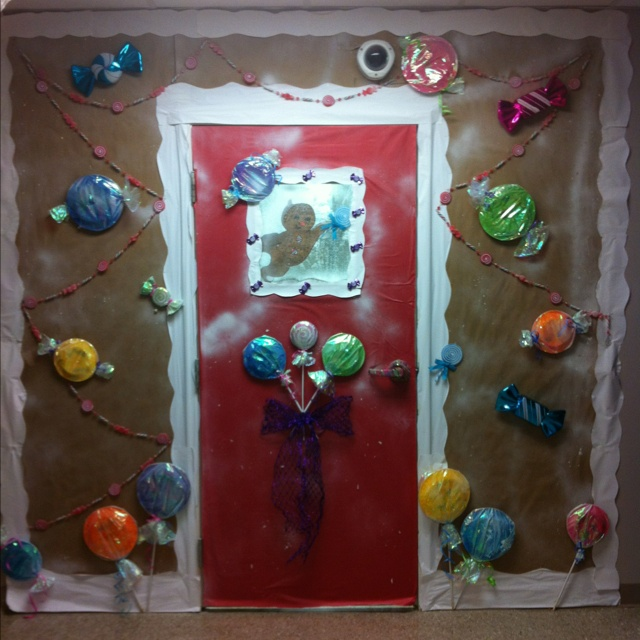 Classroom Door Christmas Decorations: 93 Best Images About Work Cubicle Holiday Decorations On