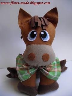 horse, donkey??? Adorable!