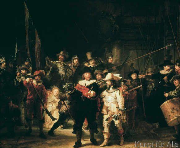 Harmensz van Rijn Rembrandt - The Night Watch