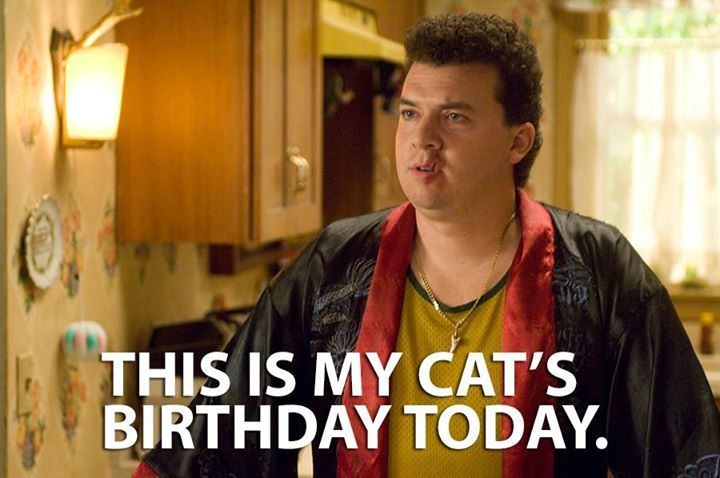 """Do you know what today is? This is my cat's birthday today."" Pineapple Express. #funny #movie #quotes"