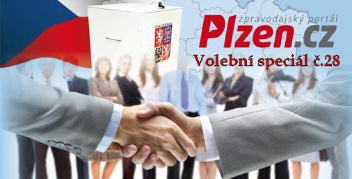 Volební speciál Plzeň č.28 http://plzen.cz/tag/volebni-special-plzen/  Volební speciál číslujeme podle toho, kolik dní ještě zbývá do voleb. Konají se v pátek a v sobotu 7. a 8. října 2016. Představíme vám postupně všechny strany, jejich kandidáty a také volební programy a cíle. Kandidáti pro krajské a senátní volby 2016 v Plzni ve VOLEBNÍM SPECIÁLU na zpravodajském portálu plzen.cz