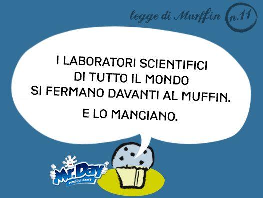 I laboratori scientifici di tutto il mondo si fermano davanti al muffin. E lo mangiano.