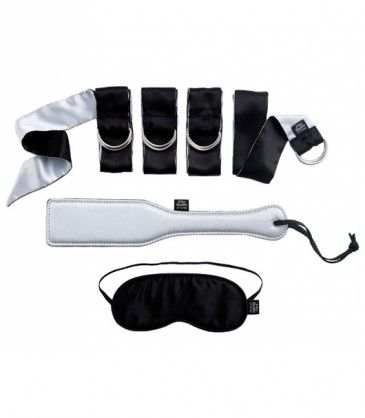 Submit to Me Beginners Bondage Kit - Fifty Shades of Grey. Let the adventure begin with this 3 piece bondage set for some light bondage fun. R1195.00