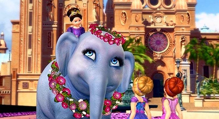Barbie island princess tika making friends barbie movies