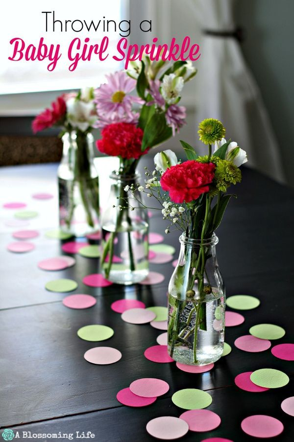 Throwing A Baby Girl Sprinkle (a Small Baby Shower)   DIY Ideas For The
