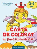 CARTE DE COLORAT CU POVESTI ROMANESTI   BOGDAN, Irina; MISCOV, Daniela