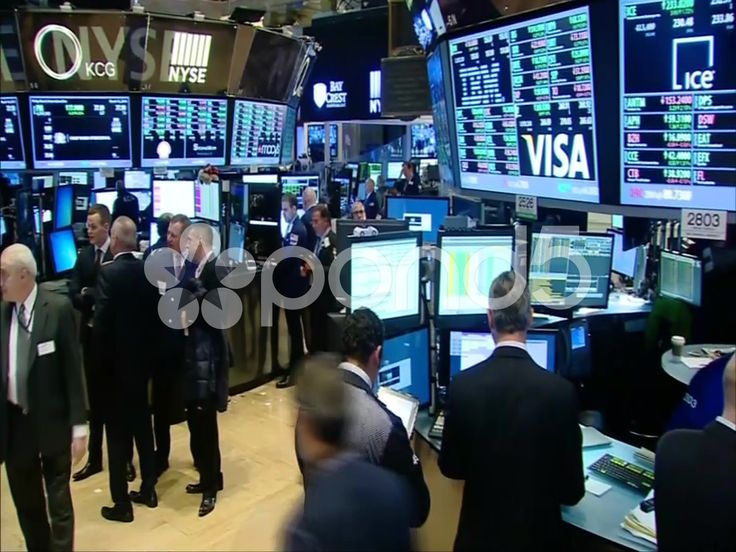 S&P 500 dow jones nasdaq stock exchange - Stock Footage | by dino75