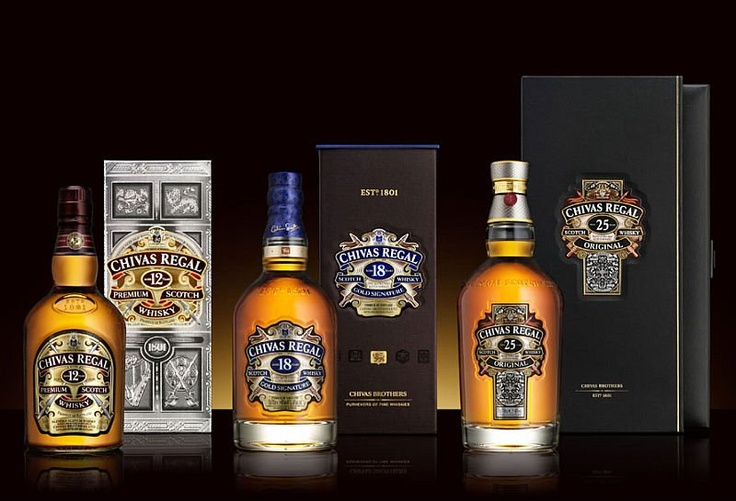 Chivas Regal Scotch Whiskey