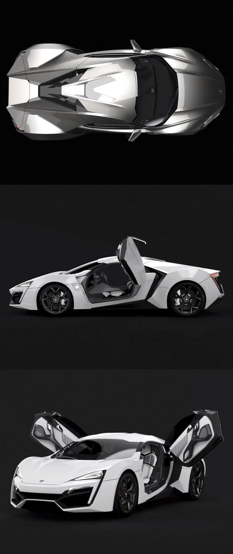 Lykan Hypersport (W motors)