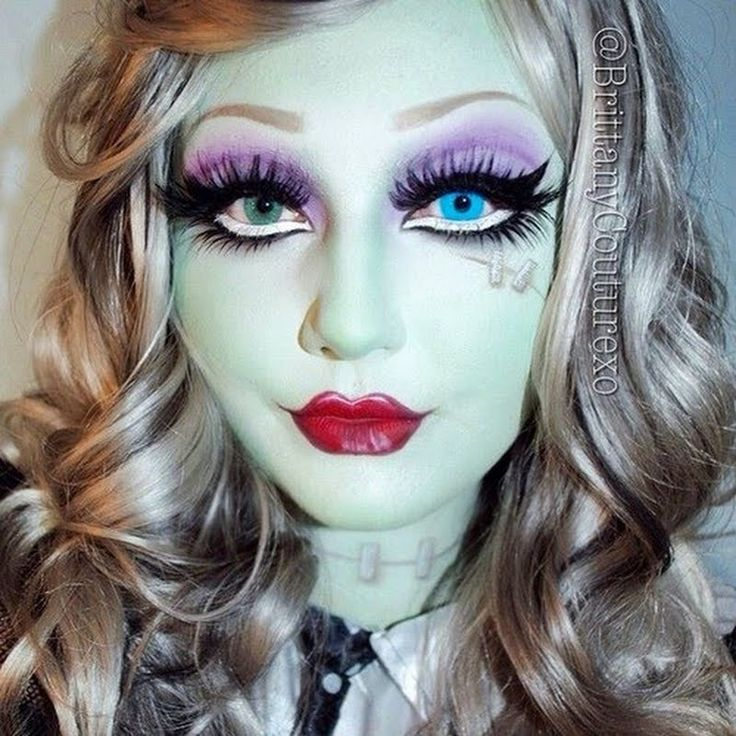 ‪#‎HalloweenMakeupIdeas‬: Going as Monster High's Frankie Stein? Here's Preen.Me #makeupartist Brittany C's tutorial! Watch it here.