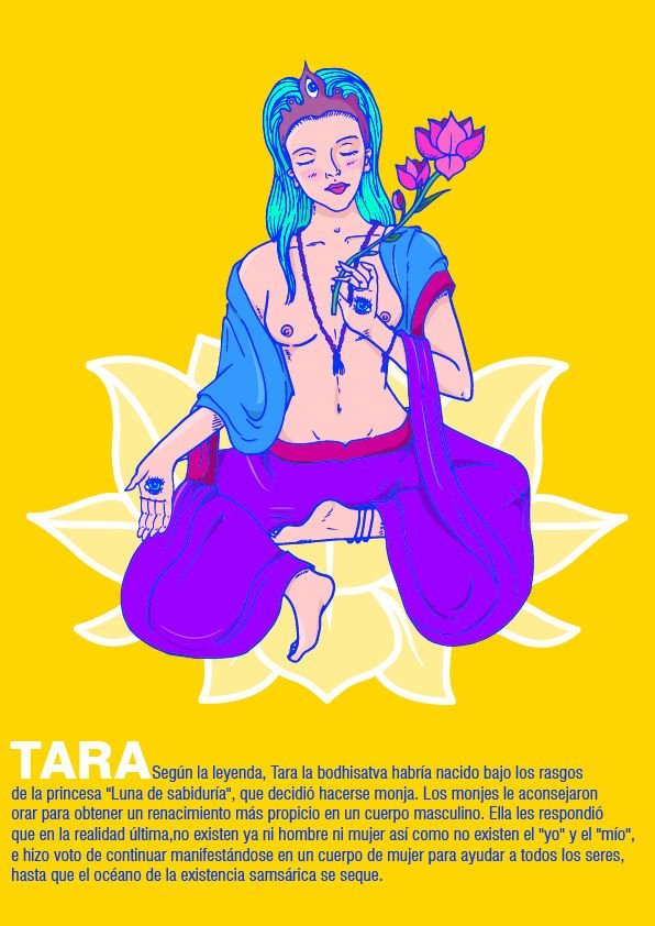 Diosa Tara Psycodelic on Behance