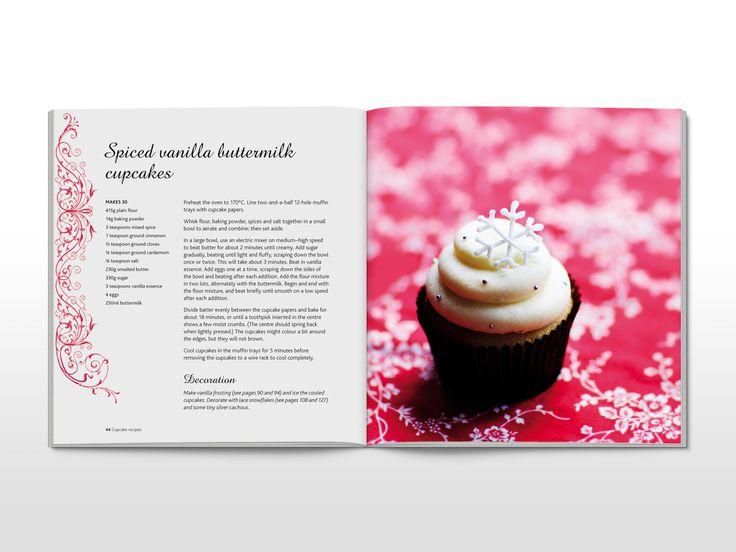 Divine Cupcakes cookbook spread