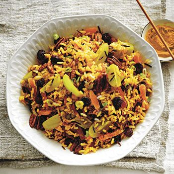 Jewelled Wild Rice Salad