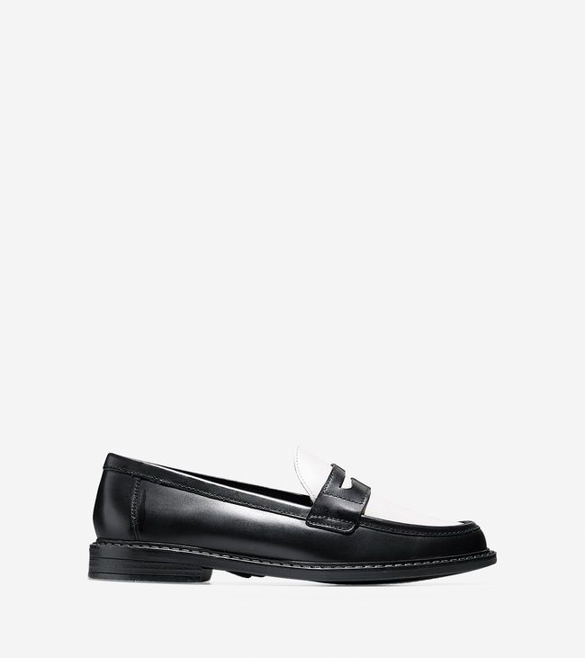 Cole Haan NYC | Pinch Campus Penny, black and ivory, please