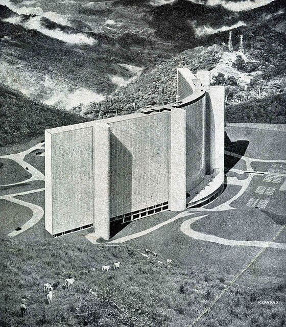 Petrópolis by Oscar Niemeyer.