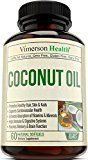 Extra Virgin Coconut Oil Supplement. Promotes Healthy Skin Hair & Nails. Supports Heart Immune & Digestive Health. Helps Boost Brain Function and Enhance Absorption of Nutrients & Minerals