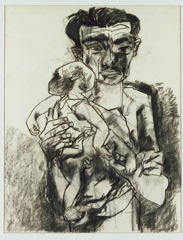 'Man Carrying a Child', Peter De Francia | Tate